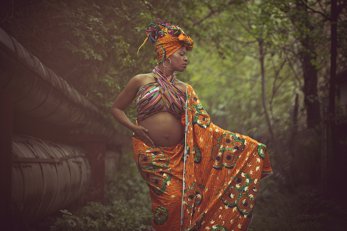 Pregnancy,Gives,New,Beauty,To,Women.,Pregnant,Woman,In,The